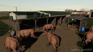 Cows Pasture for Farming Simulator 19