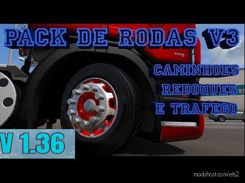 Xtrikeplays Wheels Pack V3.0 for Euro Truck Simulator 2