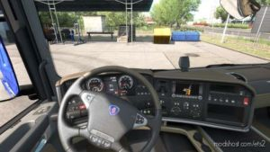 Scania 2009 Interior By DM247 [1.36.X] for Euro Truck Simulator 2
