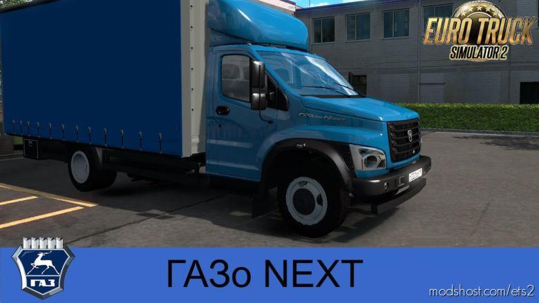 Gazon Next Truck + Interior V2.0 (1.37.X) for Euro Truck Simulator 2