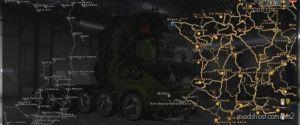 EAA 5.4 + Promods 2.45 FIX V0.3 [1.36.X] for Euro Truck Simulator 2