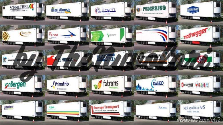 Krone Coolliner Mega Skinpack V1.6.5 By Thenuvolari (1.36.X) for Euro Truck Simulator 2