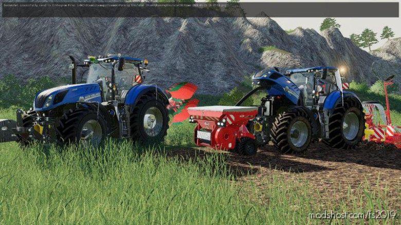 NEW Holland T7 HD for Farming Simulator 19