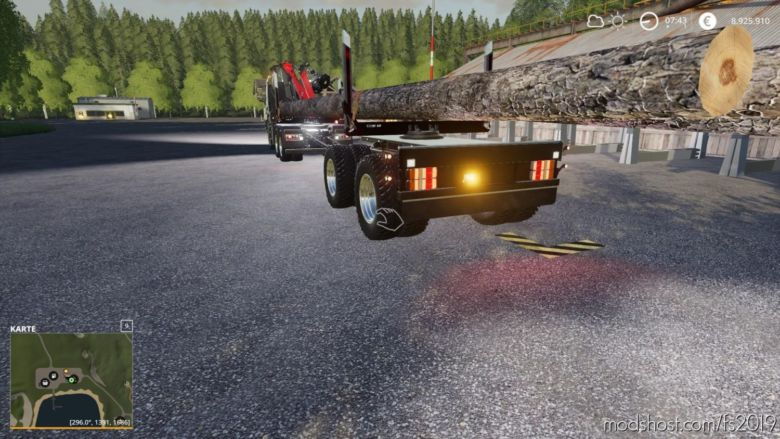 MKS8 Langholz V1.3 for Farming Simulator 19