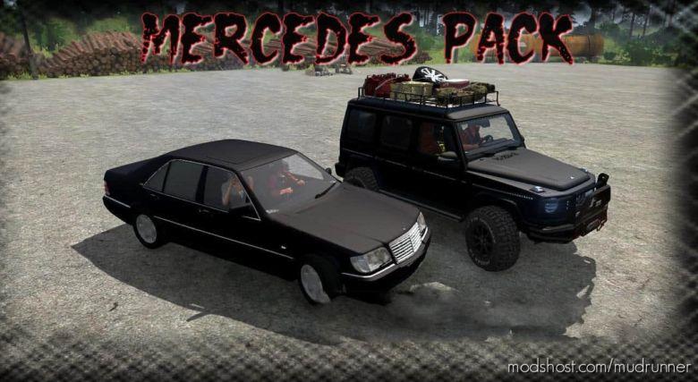 Mercedes Pack Mod for MudRunner