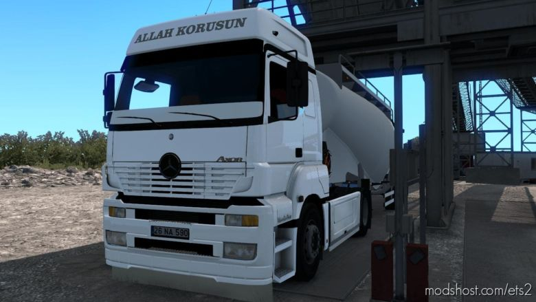 Mercedes Benz Axor MP1 V2.0 for Euro Truck Simulator 2