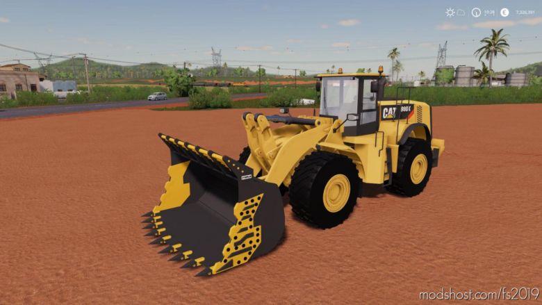 Mining Bucket For 980K CAT Loader for Farming Simulator 19