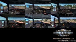 Real Interior Cams ATS V1.1.1 for American Truck Simulator
