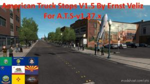 American Truck Stops V1.5 [1.37.X] for American Truck Simulator