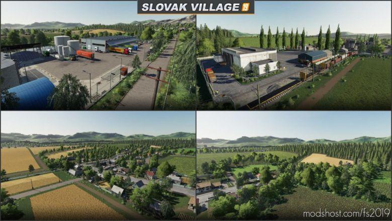 Slowakisches Dorf V1.2 for Farming Simulator 19