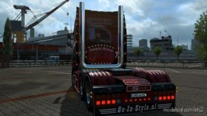 Scania Next GEN High Pipe With Airbar V1.1 for Euro Truck Simulator 2