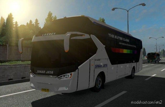 Busses In Traffic Pack V2.7 By FPS & Ryzen [1.36.X] for Euro Truck Simulator 2