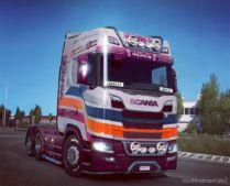 Anarchy Intercolor Design – Special Edition for Euro Truck Simulator 2