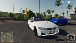BMW M3F30 Police for Farming Simulator 19