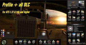 Profile + ALL DLC for American Truck Simulator
