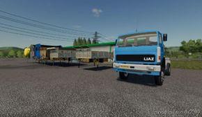 Liaz 151 Agro + Nastavby for Farming Simulator 19