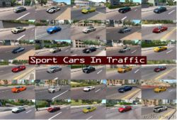 Sport Cars Traffic Pack By Trafficmaniac V6.0.1 for American Truck Simulator