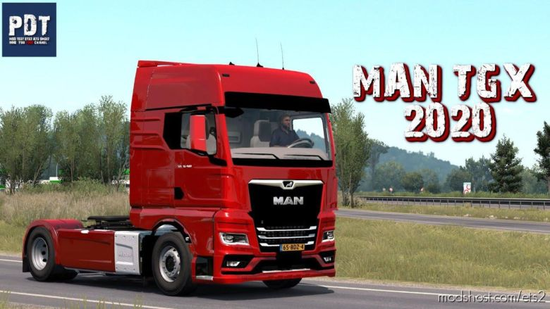 MAN TGX 2020 [1.37] for Euro Truck Simulator 2