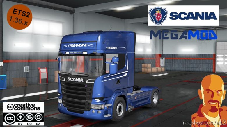 Scania Megamod Reworked [1.36.X] DX11 for Euro Truck Simulator 2