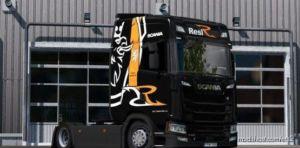 Resl Transport S.R.O. Skin For Scania S Next-Gen for Euro Truck Simulator 2