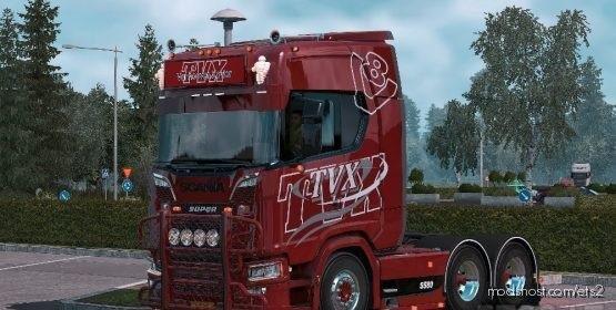 Scania S TVX Skin for Euro Truck Simulator 2