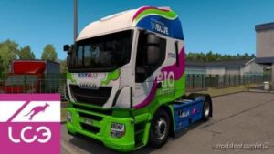 LC3 Trasporti Skin For Iveco Hi-Way + Trailer for Euro Truck Simulator 2