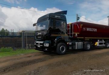 Skin Venom For Kamaz 5490 NEO for Euro Truck Simulator 2