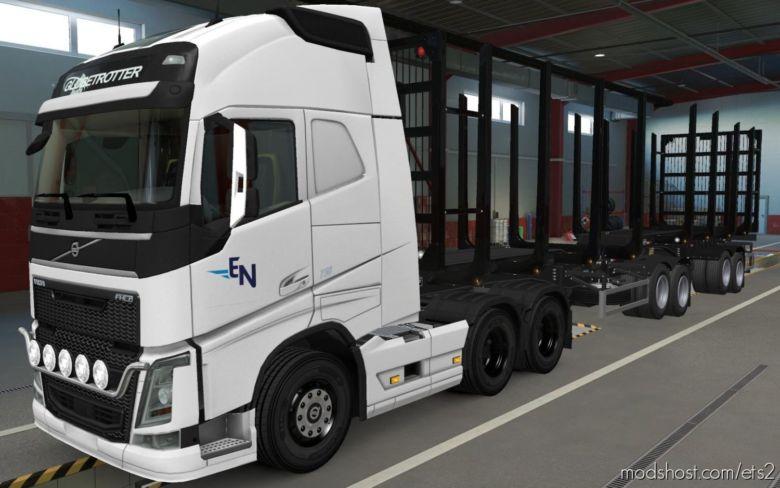Skin Volvo FH16 2012 Expresso Nepomuceno [1.37] for Euro Truck Simulator 2