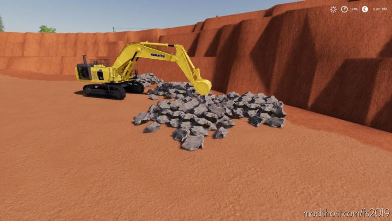 Dynamic Small Rock Pack for Farming Simulator 19