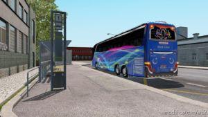 Setra 417 HDH 2012 4K 3D Design Euro Lines Skin [1.36.X] for Euro Truck Simulator 2