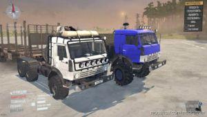 Kamaz-43114 Truck V26.04.20 for MudRunner