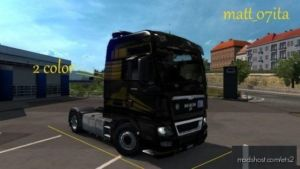 MAN Skin Multicolor Lion Edition [Skin Work By Matt_07Ita] for Euro Truck Simulator 2