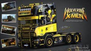 V8K R520 Wolverine Scania [1.36] for Euro Truck Simulator 2