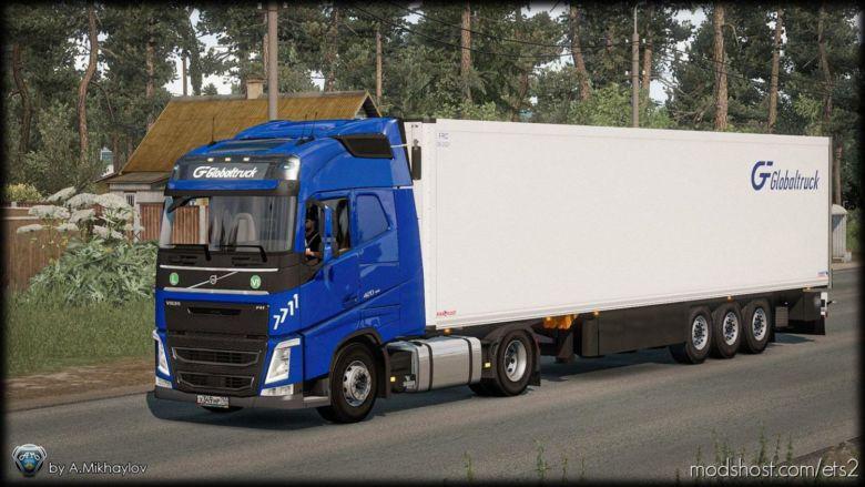 Volvo FH4 Global Truck Skin Pack for Euro Truck Simulator 2