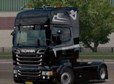Black Skin For Scania RJL for Euro Truck Simulator 2