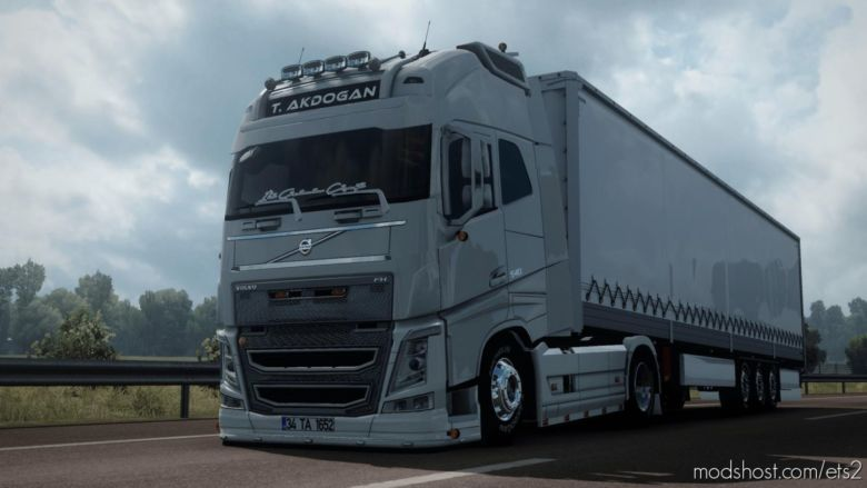Tanju Akdogan Volvo 540 V2 [1.37] for Euro Truck Simulator 2