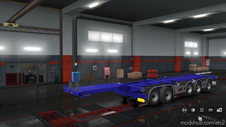 D-Tec Combi Trailer V1.1 for Euro Truck Simulator 2