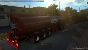 Mammut Tanker Trailer In Traffic [1.36.X] for American Truck Simulator