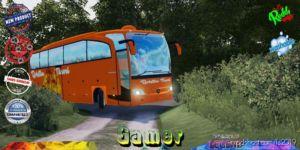 Autobus Rosten Travel V1.5 for Farming Simulator 19