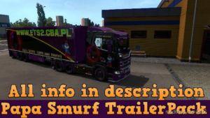 AI Traffic Trailer Pack – 100 Trailers [1.36] for Euro Truck Simulator 2