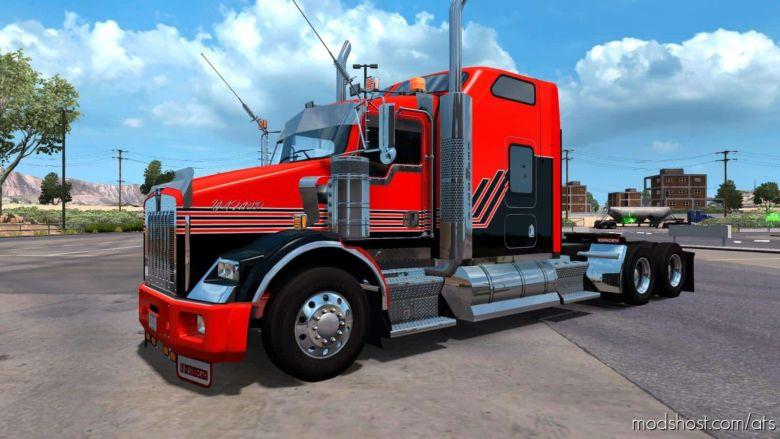 Kenworth T800 Custom Truck for American Truck Simulator