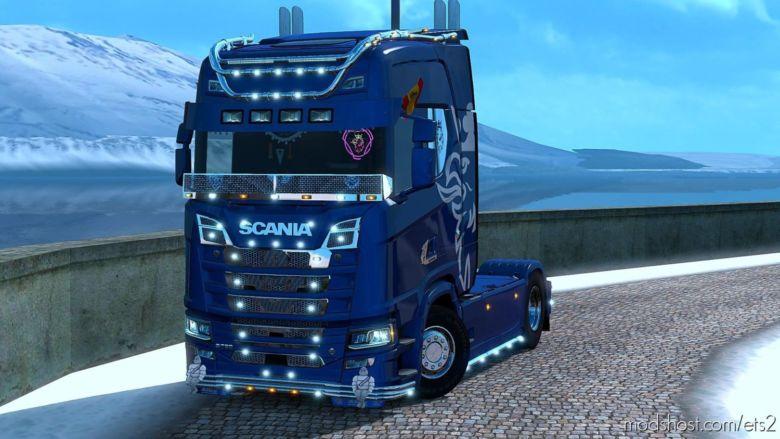 Scania S750 Multiplayer [1.36] for Euro Truck Simulator 2