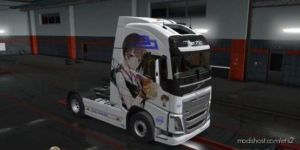 Volvo FH4 Kaga Kancolle Skin for Euro Truck Simulator 2