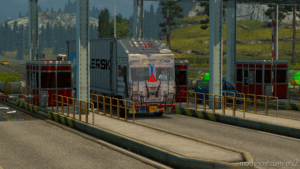 Tata 1615 Container Truck for Euro Truck Simulator 2