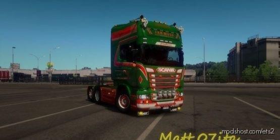 Scania RJL JAN Mues Transport Skin [1.37] for Euro Truck Simulator 2
