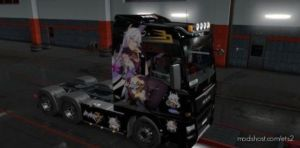 MAN TGX Euro 6 Herrscher Of The Void Skin for Euro Truck Simulator 2