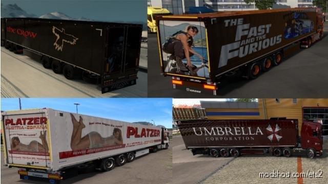 Skinpack For Krone Trailers for Euro Truck Simulator 2