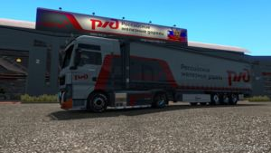 Russian Railways Skin pack for Euro Truck Simulator 2