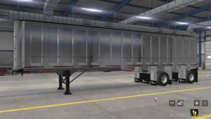Travis Dump Trailer Ownable [1.37] for American Truck Simulator