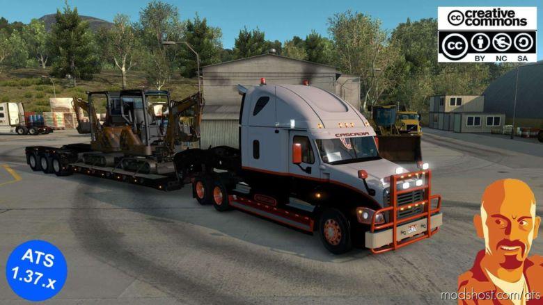 Freightliner Cascadia [1.37.X] Truck for American Truck Simulator